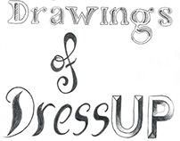 100 Drawings of Dress-up