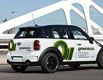 Greeneco - naming & identity design