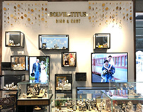 City Chain Xmas 18Visual Window and Theme Wall Design