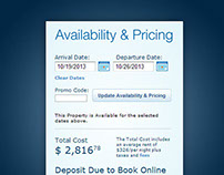 Wyndham Vacation Rental Booking Module