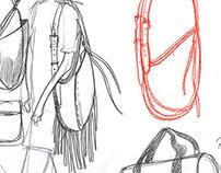 Backpack&rucksack sketches