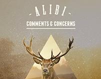 Comments & Concerns // Graphic Design