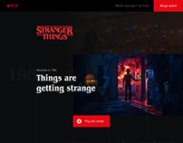 Stranger Things redesign 2017