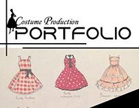 Publication Design- Costume Design Portfolio