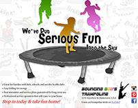 Publication Design- Trampoline Ads
