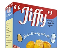 """Jiffy"" Baking Mixes rebrand"