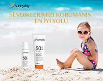 Sun Cream Advertising
