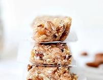 Food photography/Home made energy bars