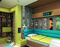 Teenage Bedroom
