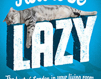 How to be lazy