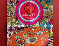 饗宴-台灣辦桌文化十二生肖宴插畫設計Taiwan Banzh