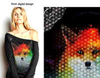 Fashion Graphic and Print Textile