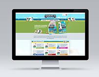 Quarts Website - Interface Design
