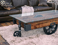 Furniture Factory Carts