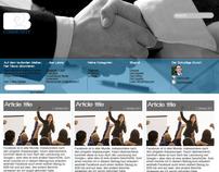 B2B Community blog theme