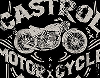 Castrol Motorcycle Division Shirts