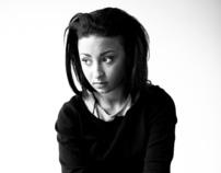 Portraits with musician Sandra Hakky, September 2011
