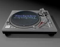 3D Modeling - Technic SL1200