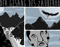 Graphic Novel for Luks Magazine