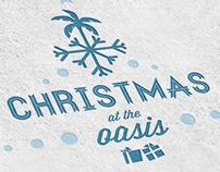 Oasis Christmas Logo & Branding