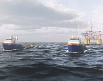 CG Open Ocean Shot for Horizon Marine