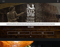 Lily's Seafood Grill & Brewery // Site Redesign