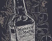 Maker's Mark T-Shirt Design