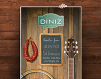 Acoustic Session Poster for a Restaurant