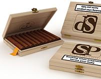 3D render - scatola sigari