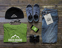 The Hiker Brand Label