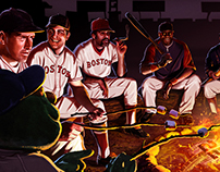 Boston Red Sox Campfire