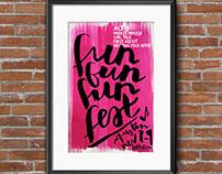 Fun Fun Fun Fest Event Poster