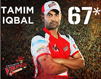 Chittagong Vikings  - BPL 2015
