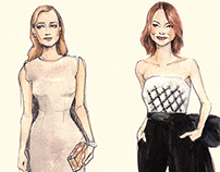 Outfits illustrated