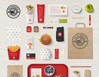 Dubai Burger Chain Branding