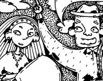 """illustrations for book """"Bolo-bolo"""""""
