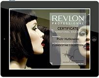 styling certificates +info: www.revlonprofessional.com