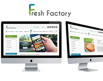 Logo + website - Fresh Factory