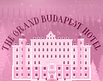 Film Title Redesign-The Grand Budapest Hotel