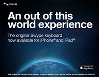 Swype - Banner Ads for iOS launch