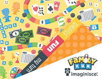 Game Night Patterned Paper