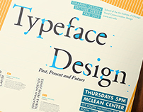 Typeface Design Lecture Poster