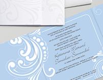 wedding invitation k&t