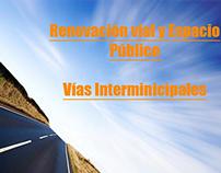 Renovación vial y espacio público - Arq. Urbana -2011-2