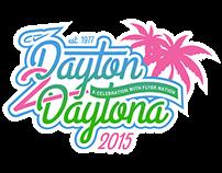 Campus Vacations — Dayton2Daytona Logo & Collateral
