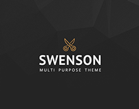 Swenson - Soft Creative Wordpress Theme