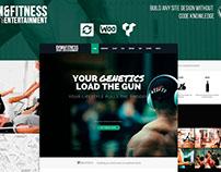 Gym WordPress Theme - Fitness Site Builder