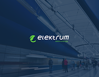 Elektrum - Logotype design