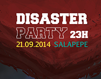 Disaster Party Poster