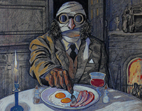 """""""The Invisible Man"""" H. G. Wells."""